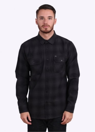 Obey Huddle Woven Shirt - Black