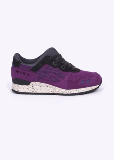 Asics Gel Lyte III Trainers - Purple