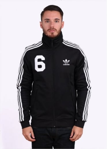 Adidas Originals Apparel NY Kaiser Beckenbauer Track Top - Black