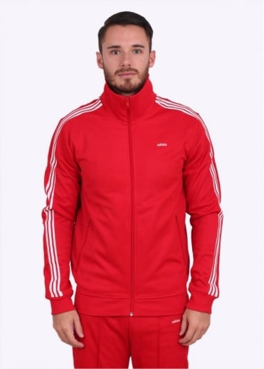 Adidas Originals Apparel Beckenbauer OG Track Top - Scarlet Red