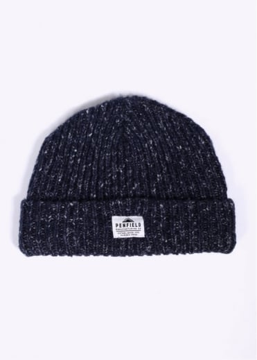 Penfield Conway Melange Beanie - Navy Blue