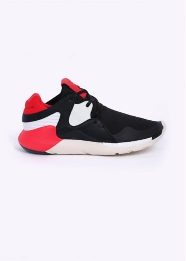 Y3 / Adidas - Yohji Yamamoto Qasa Racer Boost Trainers - Royal Red / Black / White