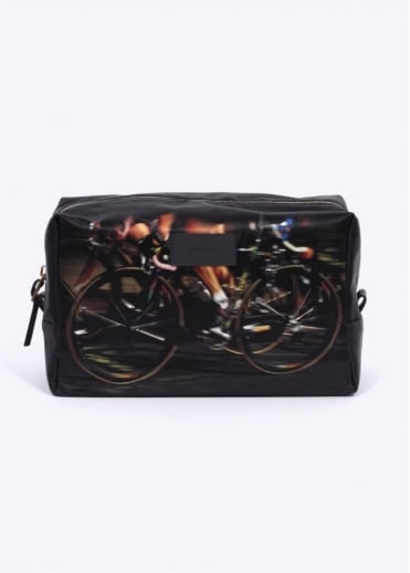 Paul Smith Accessories Cycle Print Wash Bag - Black