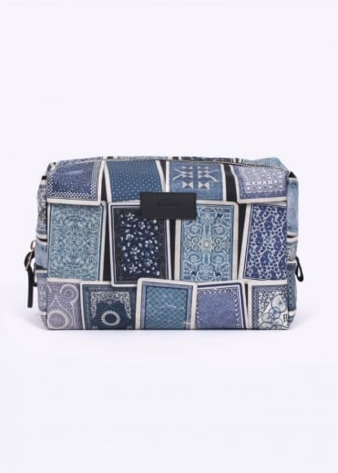 Paul Smith Accessories Games Print Wash Bag - Blue