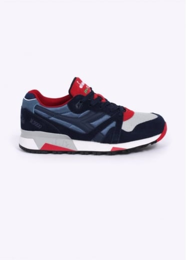 Diadora N9000 NYL Trainers - Colonel Blue