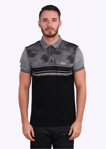 Hugo Boss Green Paule 1 Polo - Black