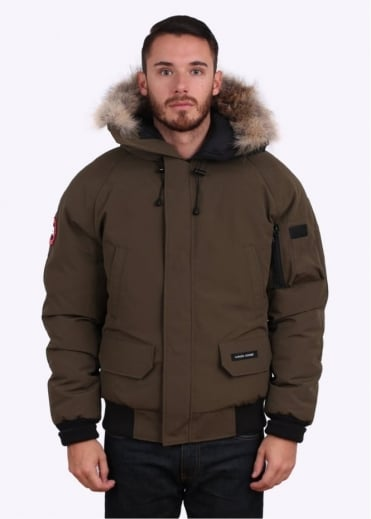 Canada Goose Chilliwack Bomber Jacket - Military Green