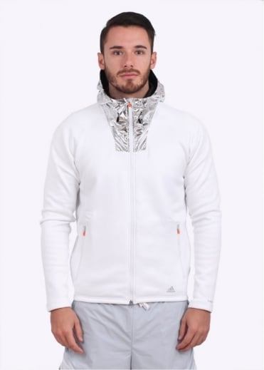 Adidas Originals Apparel x Kolor CLMHT ClimaHeat Hoodie - White / Silver