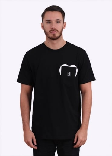 Carhartt 25th Anniversary SS Pocket Tee XXV - Black / White