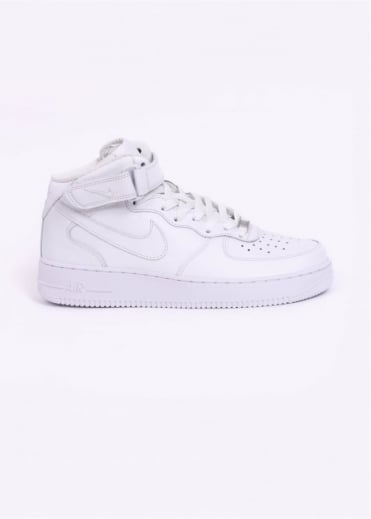 Nike Footwear Air Force 1 Mid '07 Trainers - White / White