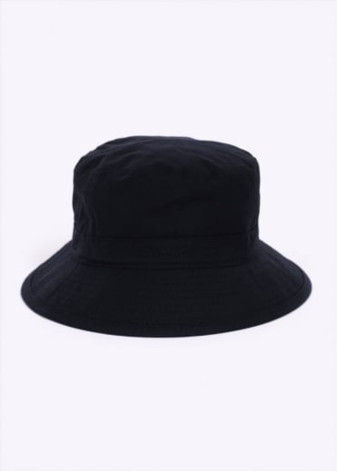 Barbour Wax Sports Bucket Hat - Navy Blue