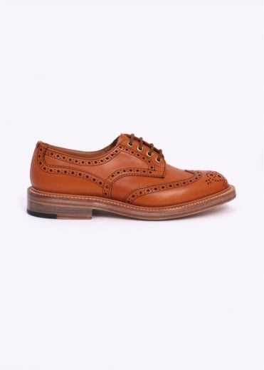 Trickers by Triads Derby Brogues - Acorn Antique