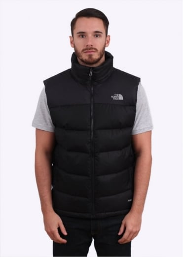 North Face Nuptse Down Vest - Black
