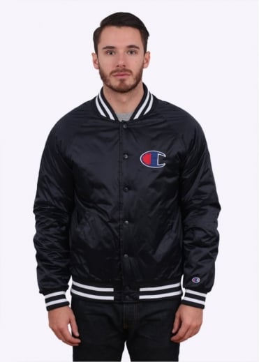 Champion Bomber Jacket - Navy Blue