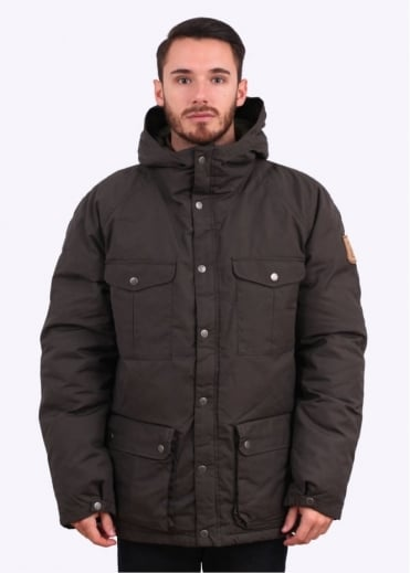 Fjallraven Greenland Down Jacket - Mountain Grey