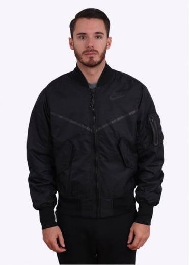 Nike Apparel MA-1 Bomber Jacket - Black