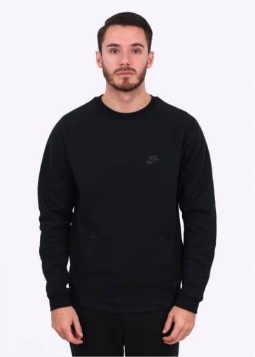 Nike Apparel Tech Fleece Crew - Black