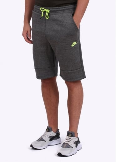 Nike Apparel Tech Fleece Shorts - Charcoal