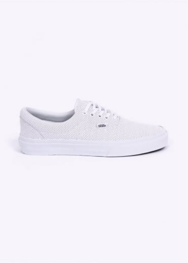 Vans Era Perforated Leather - True White