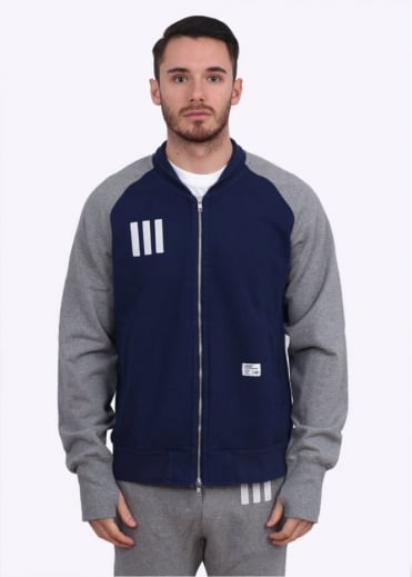 Adidas Originals Apparel x Bedwin & The Heartbreakers Sweat Track Jacket - Dark Blue