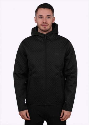 Hugo Boss Green Samwell Hoody - Black