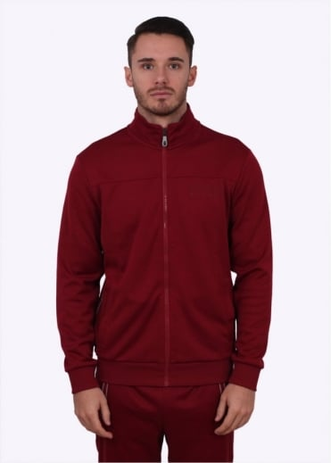 Hugo Boss Green Skaz Jacket - Dark Red
