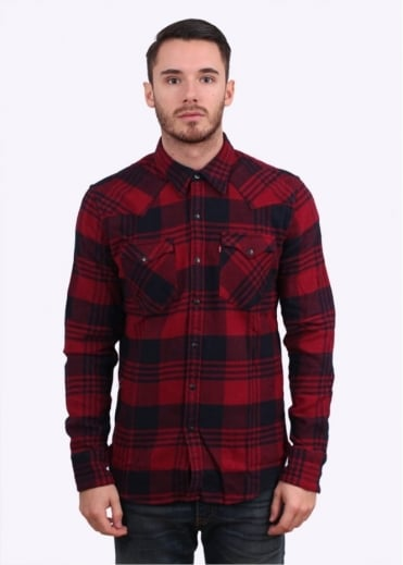 Levi's Red Tab Barstow Western Shirt - Red
