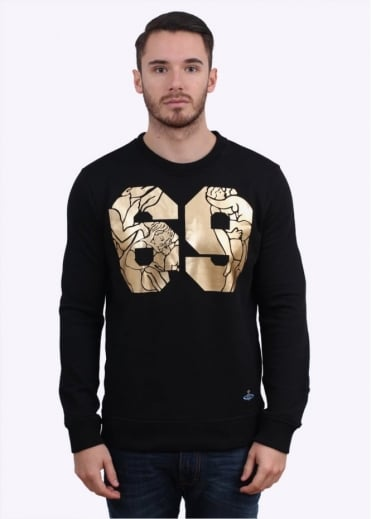 Vivienne Westwood Mens 69 Sweater - Black
