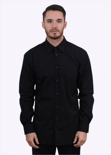 Vivienne Westwood Mens Plain Orb Shirt - Black