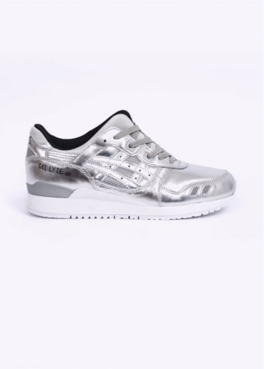 Asics Gel-Lyte III Trainers Holiday Pack - Silver
