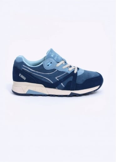 Diadora N9000 S Trainers - Moonlight Blue
