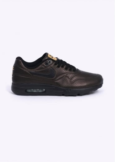Nike Footwear Air Max 1 Ultra Moire Trainers - Metallic Gold / Enamel Green