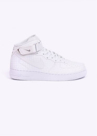 Nike Footwear Air Force 1 Mid '07 LV8 Trainers - White / White