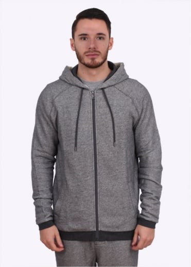 Hugo Boss Black Hooded Jacket - Charcoal