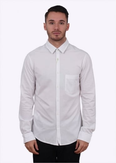 Hugo Boss Green Biddy Shirt - White
