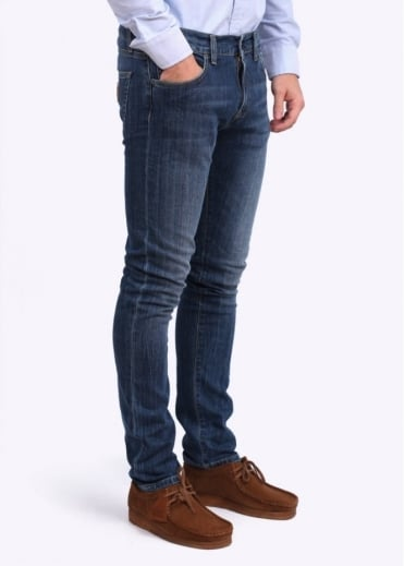 Carhartt Rebel Jeans - Wash Blue Dock