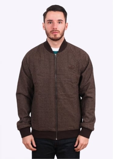 Adidas Originals Apparel Tweed SST Superstar Jacket - Brown