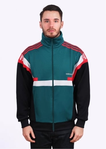 Adidas Originals Apparel Brion Track Top - Emerald Green