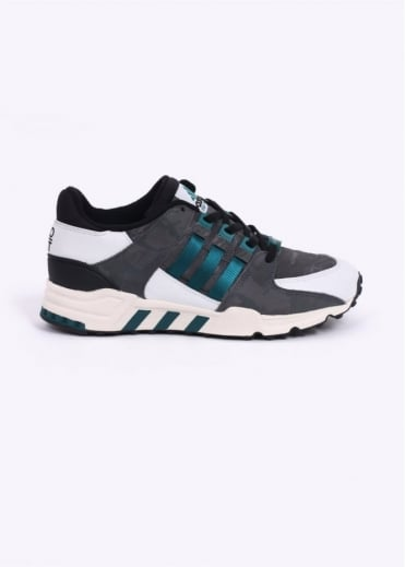 Adidas Originals Footwear EQT Equipment Running Support 93 'Tokyo' Trainers - Core Black / Emerald / White