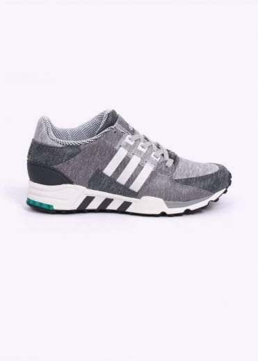 Adidas Originals Footwear EQT Equipment Running Support 93 'Portland' Trainers - Core Heather / Vintage White