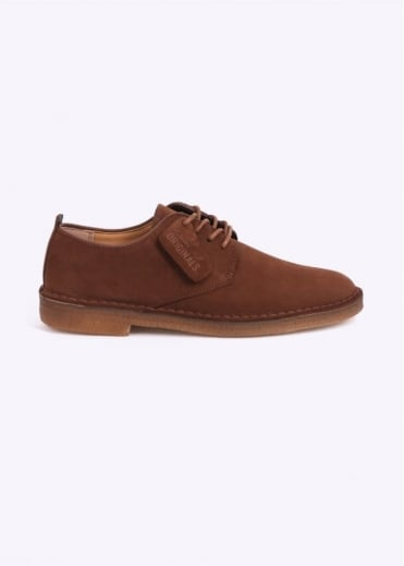 Clarks Originals Desert London Suede - Cola