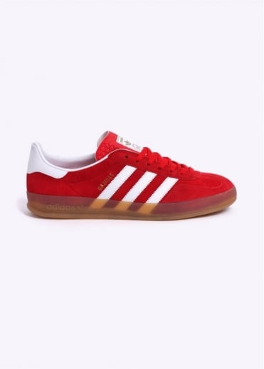 Adidas Originals Footwear Gazelle Indoor Trainers - Red