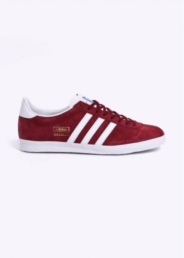 Adidas Originals Footwear Gazelle OG Trainers - Burgundy