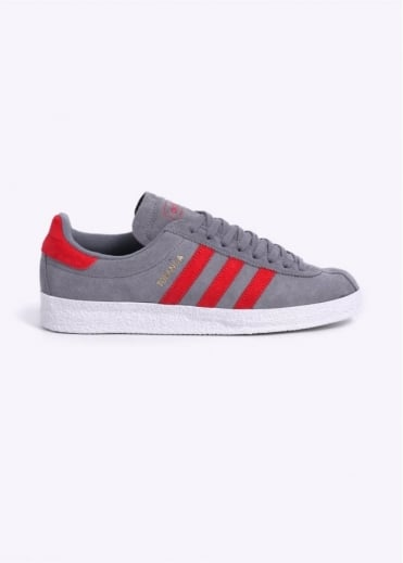Adidas Originals Footwear Topanga Trainers - Grey / Red
