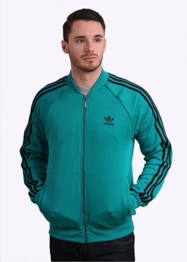 Adidas Originals Apparel SST Track Top - Green