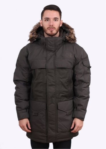 North Face McMurdo Parka 2 - Black / Ink Green