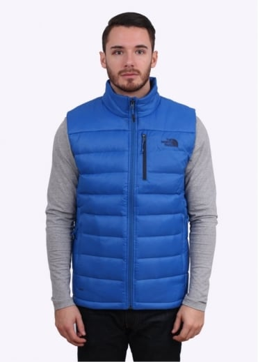 North Face Aconcagua Vest - Monster Blue