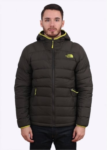 North Face La Paz Hooded Jacket - Black / Ink Green