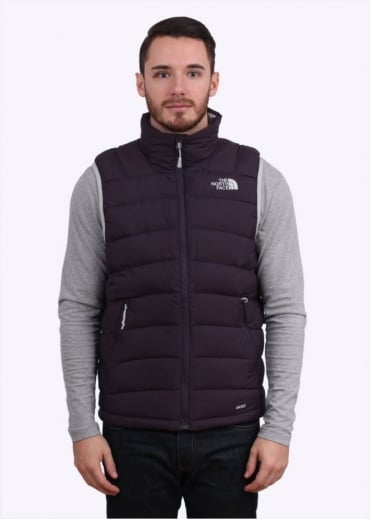 North Face La Paz Vest - Dark Eggplant Purple