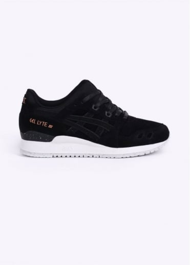 "Asics Gel Lyte III ""Rose Gold Pack"" Trainers - Black"